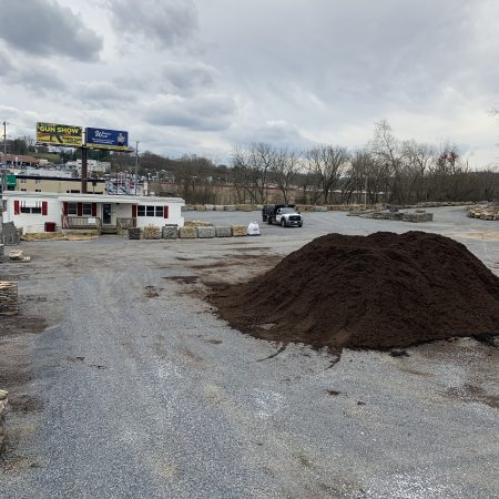 Johnson City Yard - Mulch