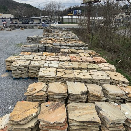 Johnson City Yard - Flagstone / Slabs
